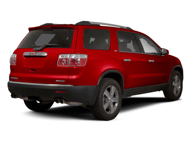 Crystal Red Tintcoat 2012 GMC Acadia Pictures Acadia Wagon 4D SLE AWD photos rear view