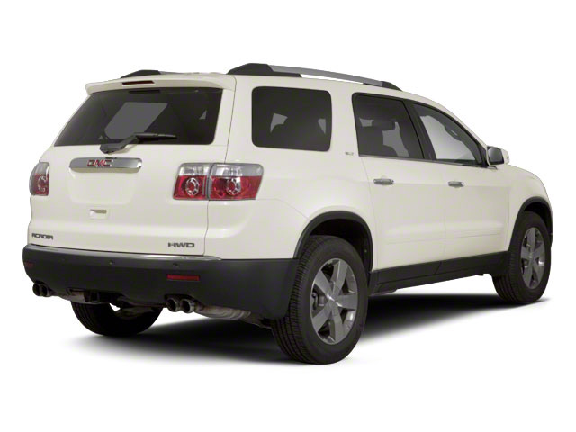 White Diamond Tricoat 2012 GMC Acadia Pictures Acadia Wagon 4D SLE AWD photos rear view