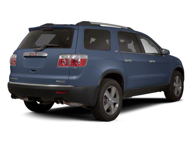 Steel Blue Metallic 2012 GMC Acadia Pictures Acadia Wagon 4D SLE AWD photos rear view