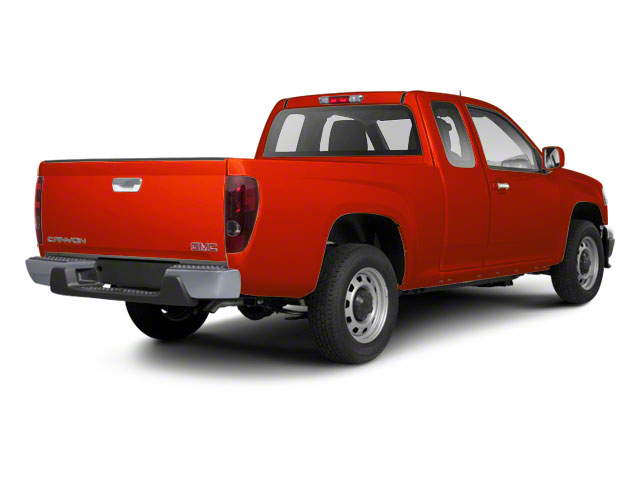 Red Orange Metallic 2012 GMC Canyon Pictures Canyon Extended Cab SLE photos rear view