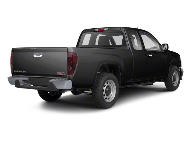 Onyx Black 2012 GMC Canyon Pictures Canyon Extended Cab SLE photos rear view