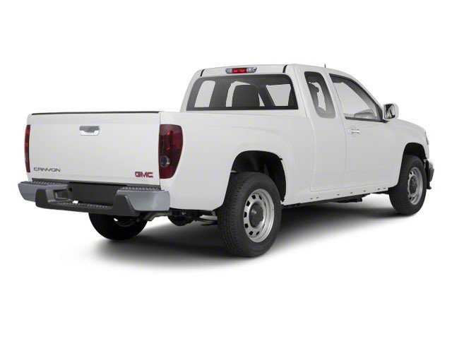 Summit White 2012 GMC Canyon Pictures Canyon Extended Cab SLE photos rear view