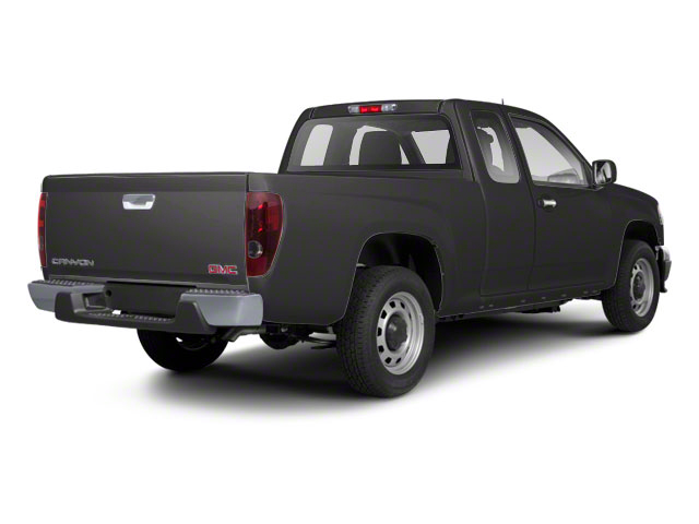 Dark Steel Gray Metallic 2012 GMC Canyon Pictures Canyon Extended Cab SLE photos rear view