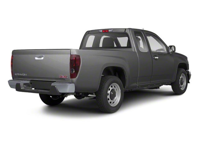 Pure Silver Metallic 2012 GMC Canyon Pictures Canyon Extended Cab SLE photos rear view