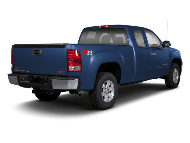 Midnight Blue Metallic 2012 GMC Sierra 1500 Pictures Sierra 1500 Extended Cab Work Truck 2WD photos rear view