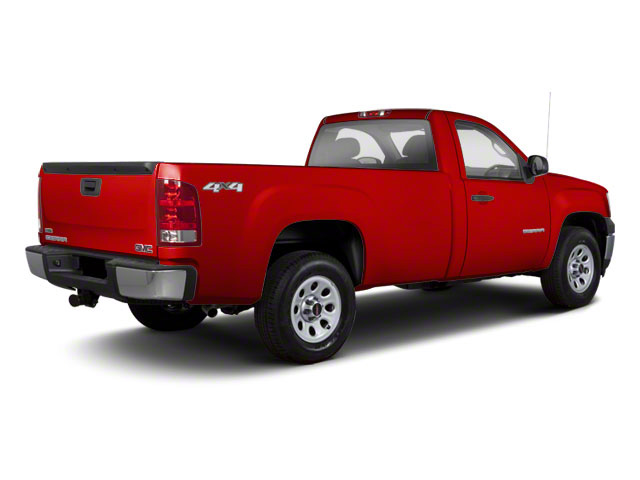 Fire Red 2012 GMC Sierra 1500 Pictures Sierra 1500 Regular Cab SLE 2WD photos rear view