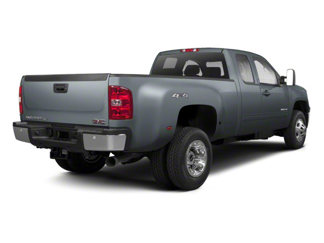 Stealth Gray Metallic 2012 GMC Sierra 3500HD Pictures Sierra 3500HD Extended Cab SLT 4WD photos rear view