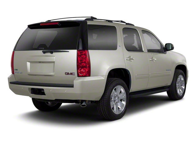 Steel Gray Metallic 2012 GMC Yukon Pictures Yukon Utility 4D SLT 4WD photos rear view