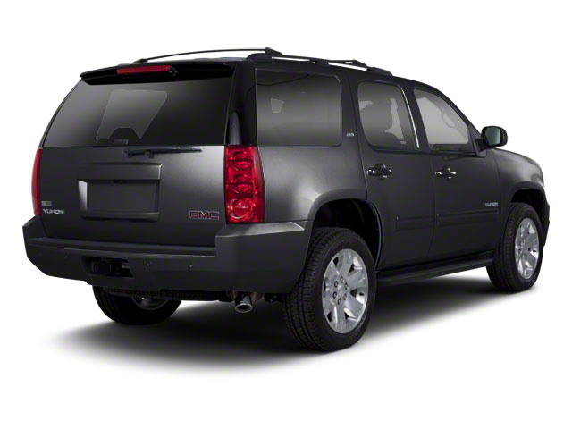 Onyx Black 2012 GMC Yukon Pictures Yukon Utility 4D SLT 4WD photos rear view
