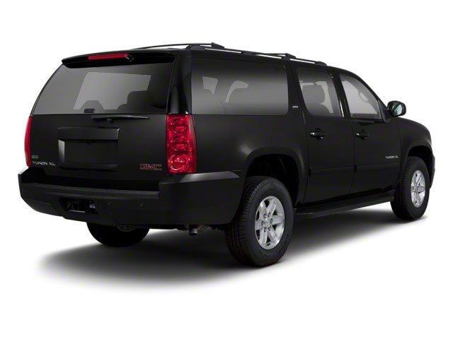 Onyx Black 2012 GMC Yukon XL Pictures Yukon XL Utility C2500 SLT 2WD photos rear view