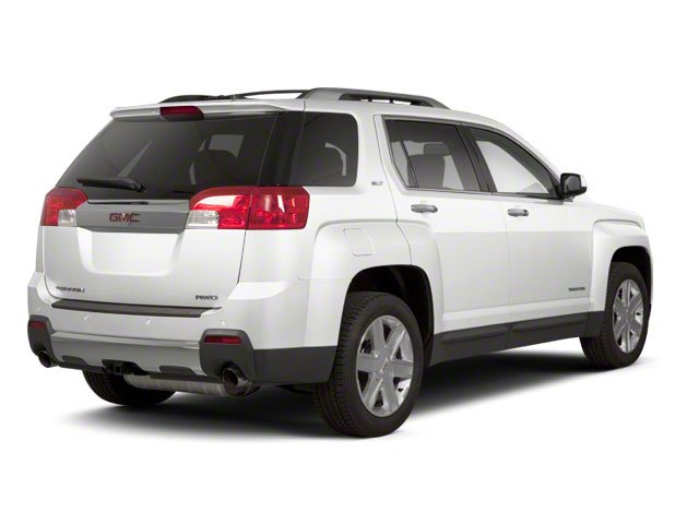 Olympic White 2012 GMC Terrain Pictures Terrain Utility 4D SLT AWD photos rear view
