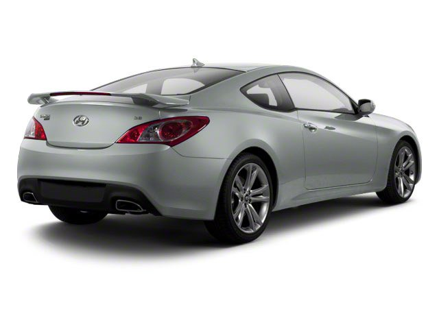 Circuit Silver 2012 Hyundai Genesis Coupe Pictures Genesis Coupe 2D Track photos rear view
