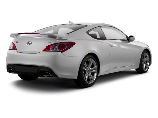 Karussell White 2012 Hyundai Genesis Coupe Pictures Genesis Coupe 2D Track photos rear view