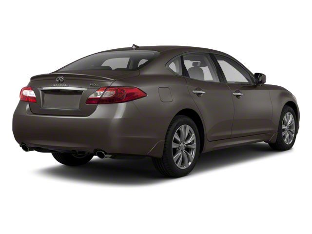 Storm Front Grey 2012 INFINITI M56 Pictures M56 Sedan 4D photos rear view