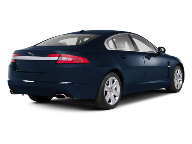 Azurite Blue 2012 Jaguar XF Pictures XF Sedan 4D photos rear view