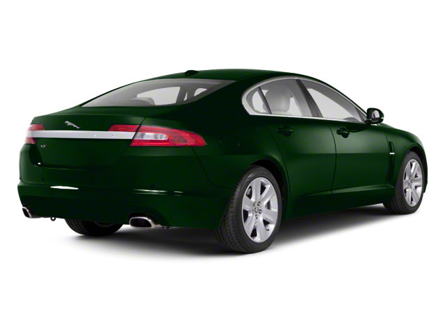 British Racing Green 2012 Jaguar XF Pictures XF Sedan 4D photos rear view