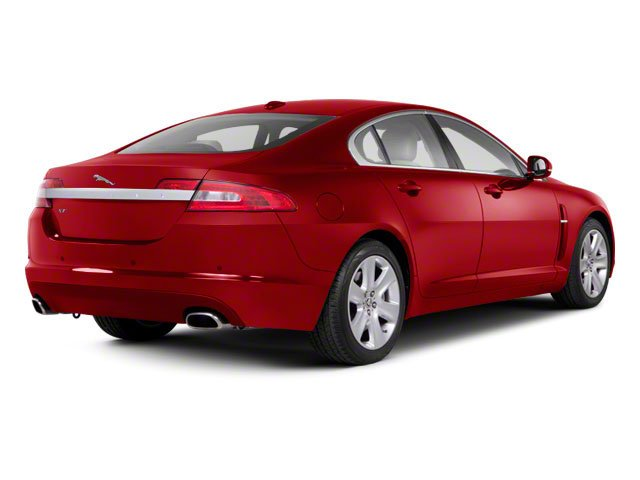 Italian Racing Red 2012 Jaguar XF Pictures XF Sedan 4D photos rear view