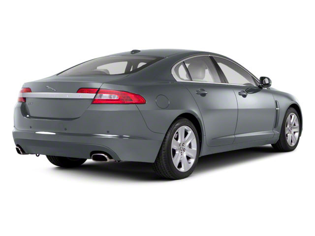 Rhodium Silver 2012 Jaguar XF Pictures XF Sedan 4D photos rear view
