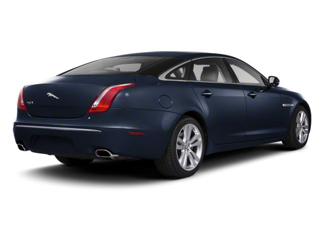 Azurite Blue 2012 Jaguar XJ Pictures XJ Sedan 4D L photos rear view
