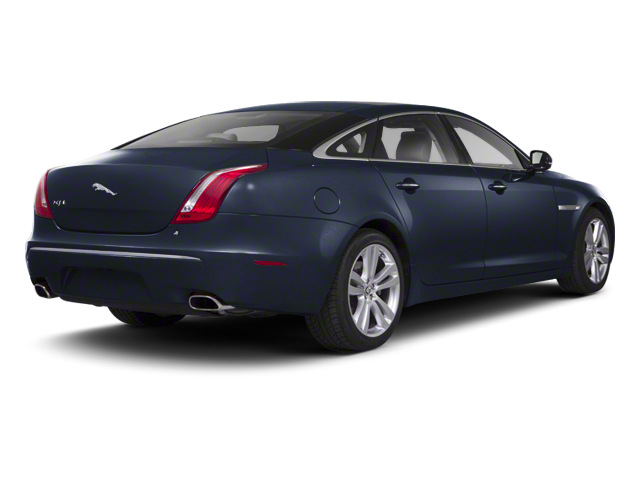 Azurite Blue 2012 Jaguar XJ Pictures XJ Sedan 4D photos rear view