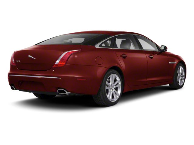 Claret 2012 Jaguar XJ Pictures XJ Sedan 4D photos rear view
