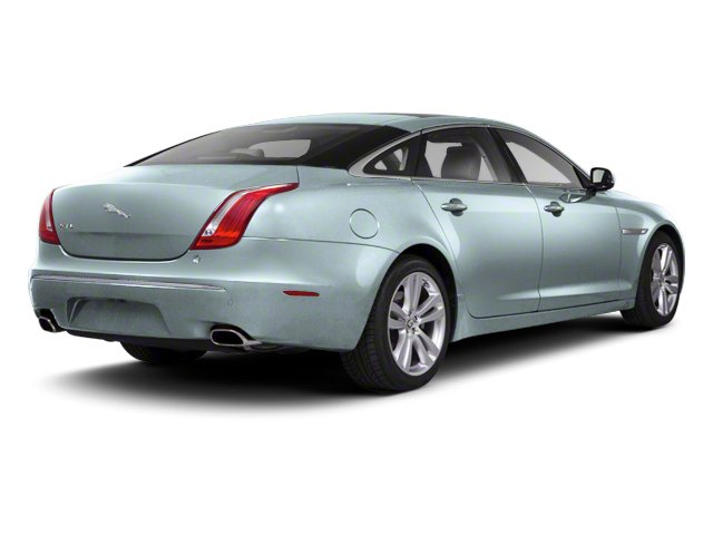 Crystal Blue 2012 Jaguar XJ Pictures XJ Sedan 4D photos rear view