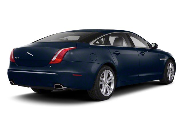 Indigo Blue 2012 Jaguar XJ Pictures XJ Sedan 4D photos rear view