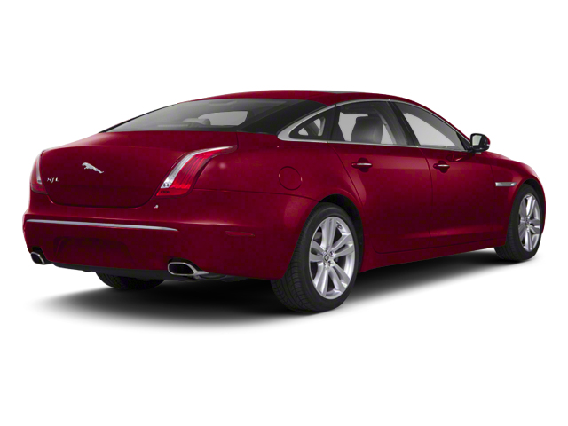Italian Racing Red 2012 Jaguar XJ Pictures XJ Sedan 4D photos rear view