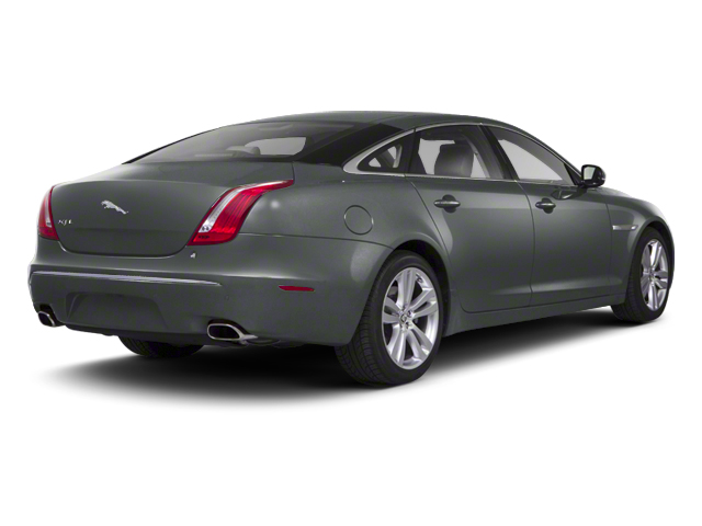 Lunar Grey 2012 Jaguar XJ Pictures XJ Sedan 4D photos rear view
