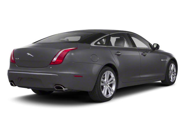 Pearl Grey 2012 Jaguar XJ Pictures XJ Sedan 4D photos rear view
