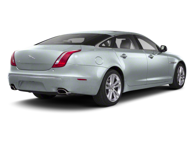 Rhodium Silver 2012 Jaguar XJ Pictures XJ Sedan 4D photos rear view