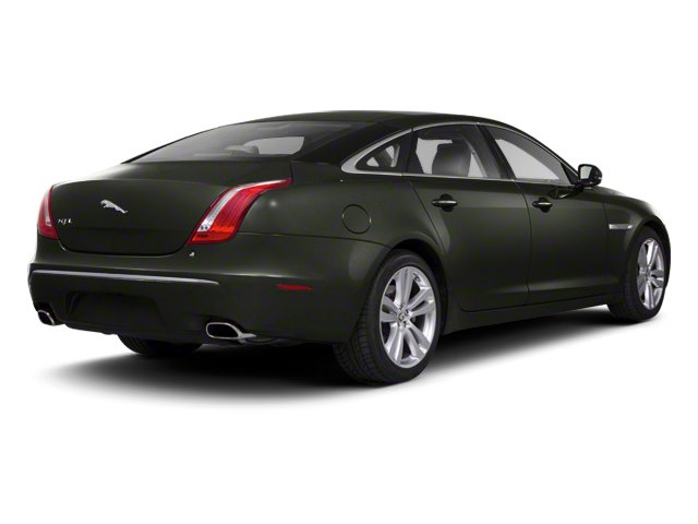 Taiga Green 2012 Jaguar XJ Pictures XJ Sedan 4D photos rear view
