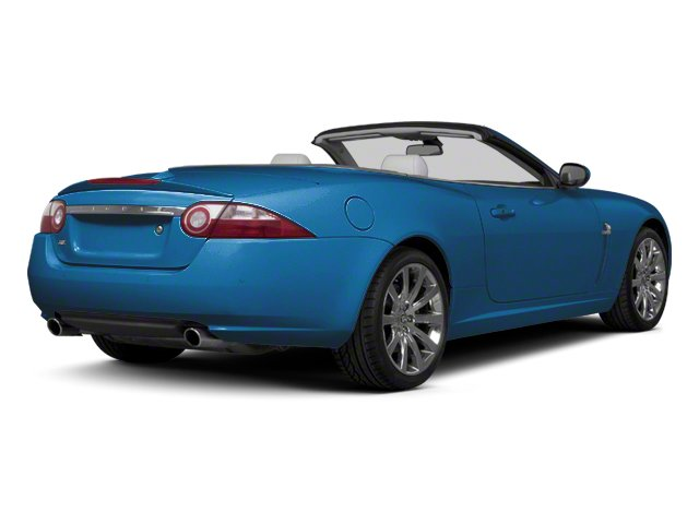 Crystal Blue 2012 Jaguar XK Pictures XK Convertible XKR Supercharged photos rear view