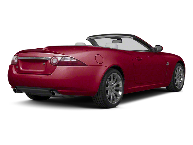Italian Racing Red 2012 Jaguar XK Pictures XK Convertible XKR Supercharged photos rear view