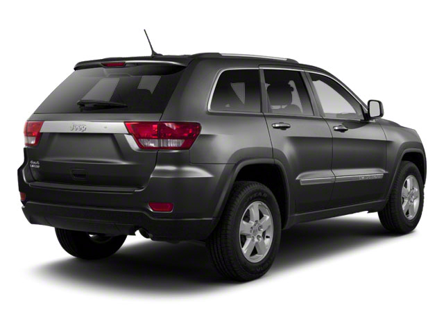Maximum Steel Metallic 2012 Jeep Grand Cherokee Pictures Grand Cherokee Utility 4D Overland 4WD photos rear view