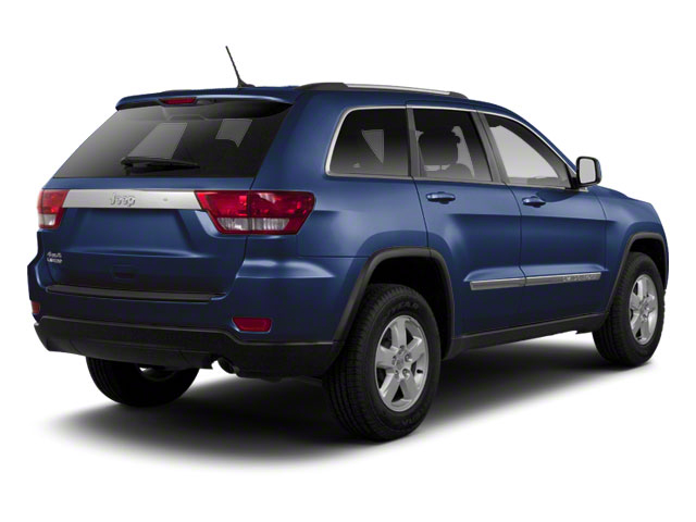 True Blue Pearl 2012 Jeep Grand Cherokee Pictures Grand Cherokee Utility 4D Overland 4WD photos rear view