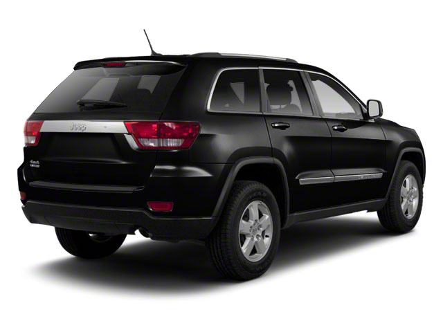 Brilliant Black Crystal Pearl 2012 Jeep Grand Cherokee Pictures Grand Cherokee Utility 4D Overland 4WD photos rear view