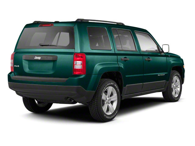 Onyx Green Pearl 2012 Jeep Patriot Pictures Patriot Utility 4D Limited 2WD photos rear view