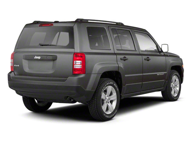 Mineral Gray Metallic 2012 Jeep Patriot Pictures Patriot Utility 4D Limited 2WD photos rear view