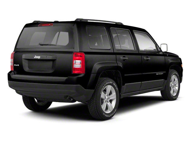 Black 2012 Jeep Patriot Pictures Patriot Utility 4D Limited 2WD photos rear view