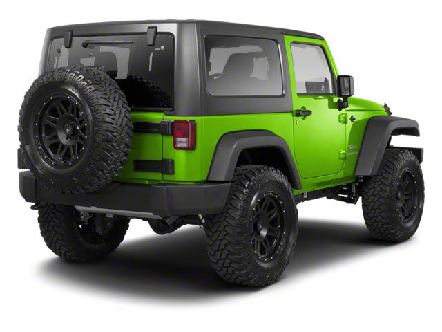 Gecko Pearl 2012 Jeep Wrangler Pictures Wrangler Utility 2D Sport 4WD photos rear view
