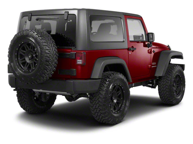 Deep Cherry Red Crystal Pearl 2012 Jeep Wrangler Pictures Wrangler Utility 2D Sport 4WD photos rear view