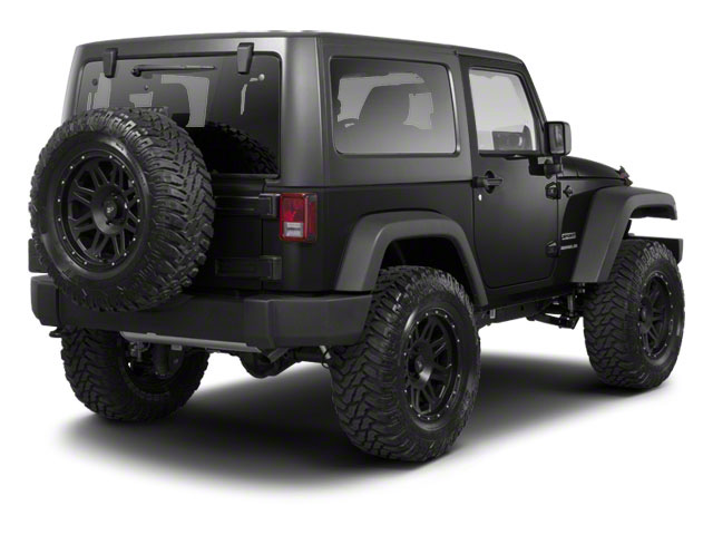 Black 2012 Jeep Wrangler Pictures Wrangler Utility 2D Sport 4WD photos rear view