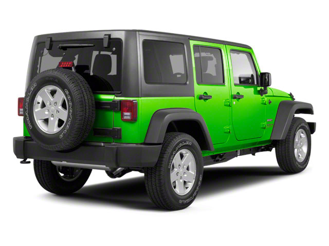 Gecko Pearl 2012 Jeep Wrangler Unlimited Pictures Wrangler Unlimited Utility 4D Unlimited Sport 4WD photos rear view