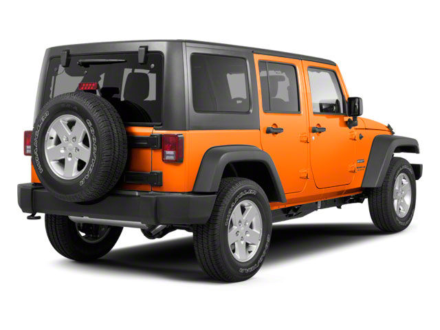 Crush 2012 Jeep Wrangler Unlimited Pictures Wrangler Unlimited Utility 4D Unlimited Sport 4WD photos rear view