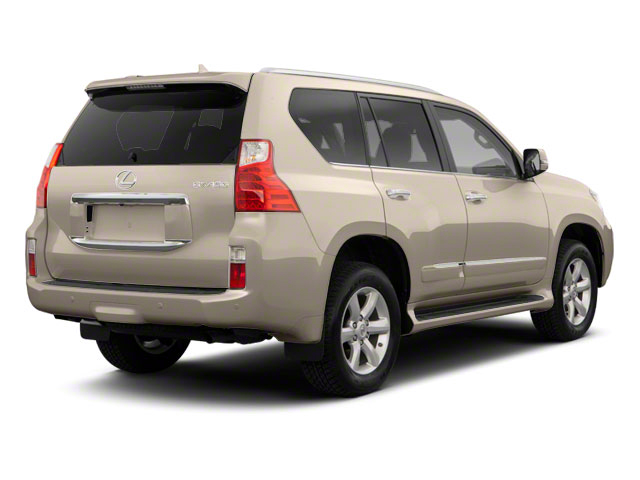 Satin Cashmere Metallic 2012 Lexus GX 460 Pictures GX 460 Utility 4D Premium 4WD photos rear view