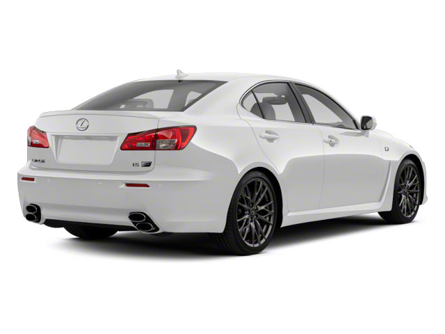 Starfire Pearl 2012 Lexus IS F Pictures IS F Sedan 4D IS-F photos rear view