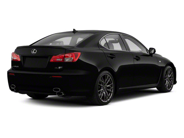 Obsidian 2012 Lexus IS F Pictures IS F Sedan 4D IS-F photos rear view