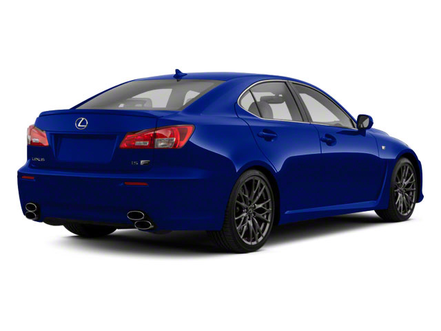 Ultrasonic Blue Mica 2012 Lexus IS F Pictures IS F Sedan 4D IS-F photos rear view