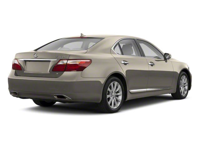 Satin Cashmere Metallic 2012 Lexus LS 460 Pictures LS 460 Sedan 4D LS460L photos rear view